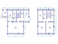 План дома 9х9