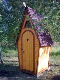 Дачный туалет Дачник