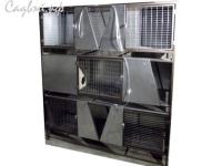 Клетка для кроликов с маточным отделением