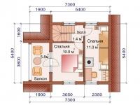 Дом - баня SDB-102